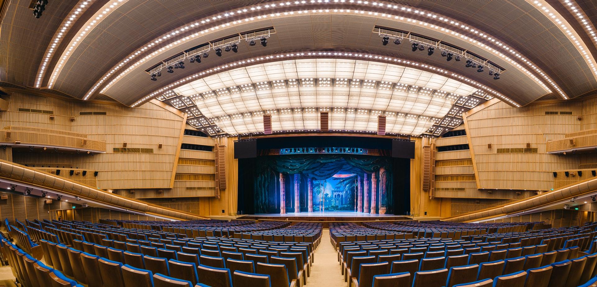 Фото из зала кремлевского дворца